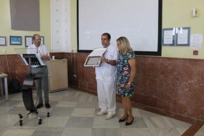 ACAP rinde homenaje a la 3ª Planta del Hospital Universitario de Puerto Real