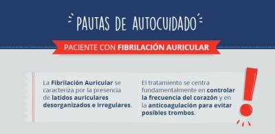 Pautas de autocuidado para los pacientes con fibrilación auricular